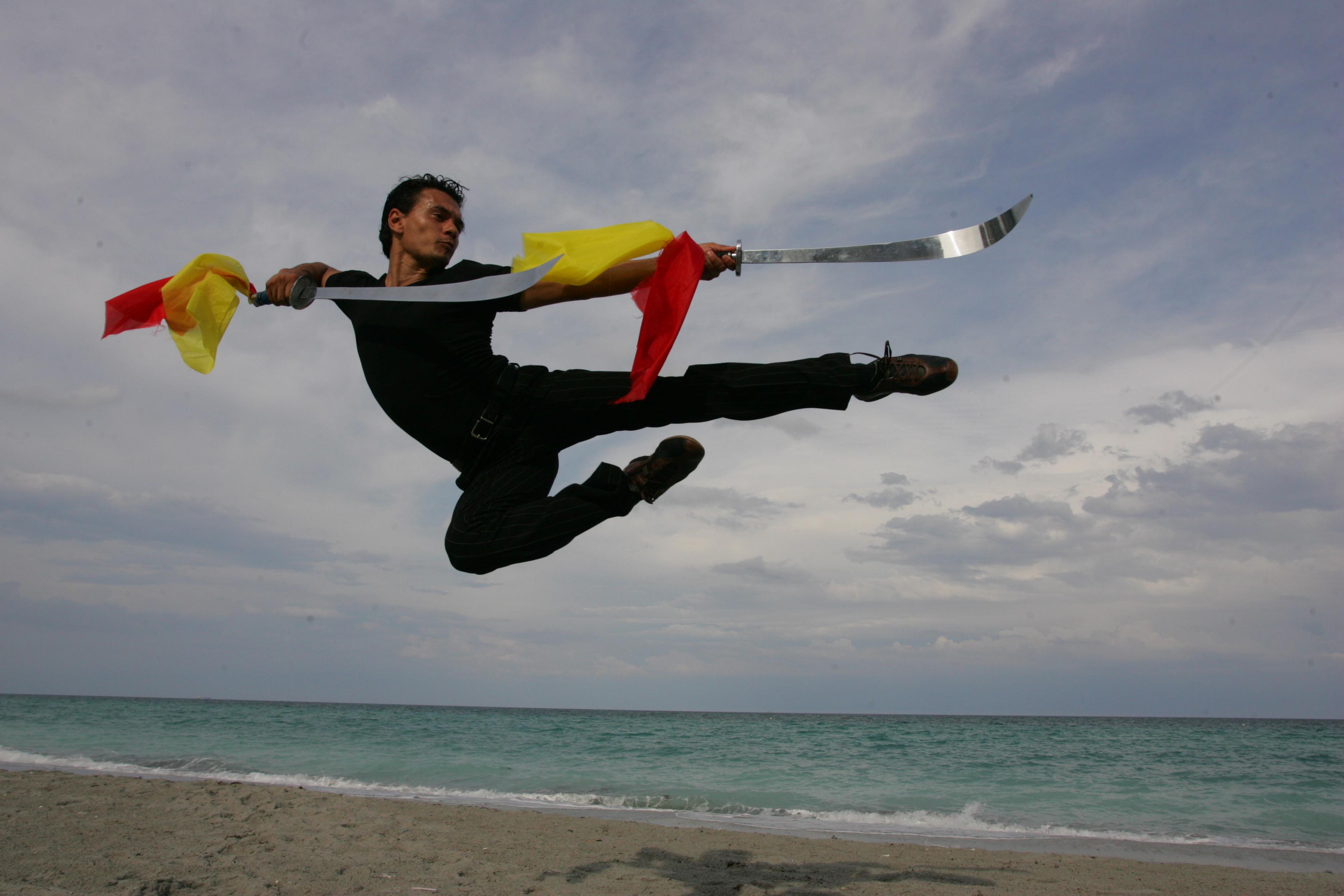Modern Wushu Training in Hollywood FL