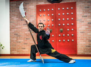 Kungfu training at Florida Wushu Kungfu Academy In Hollywood, FL