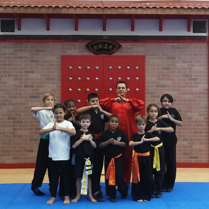 try a free kungfu or wushu class